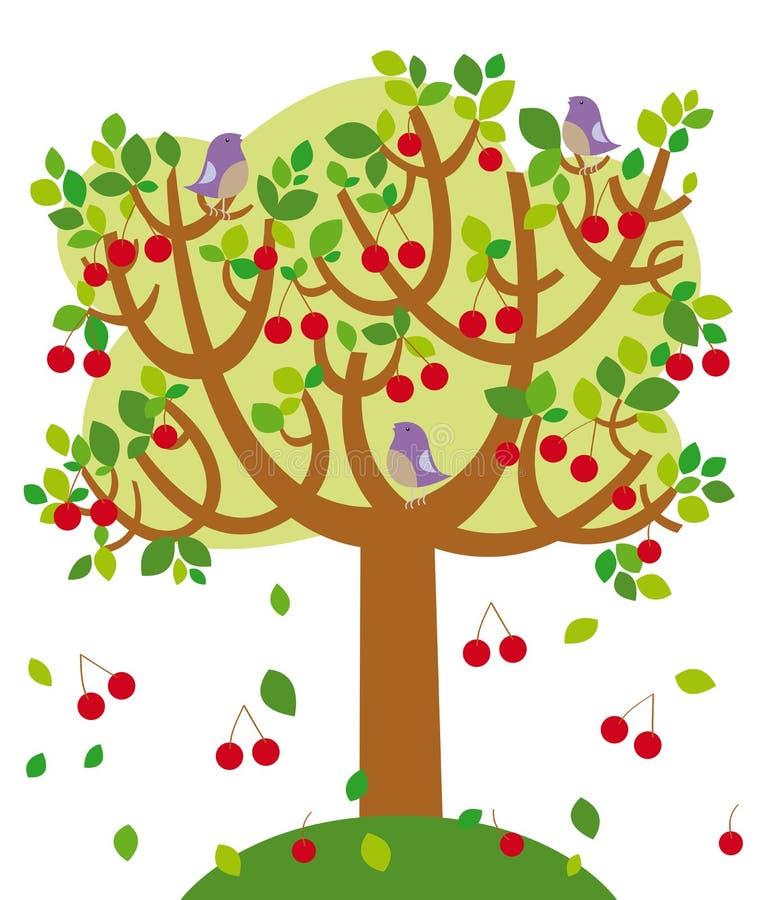 θερινό δέντρο απεικόνιση αποθεμάτων