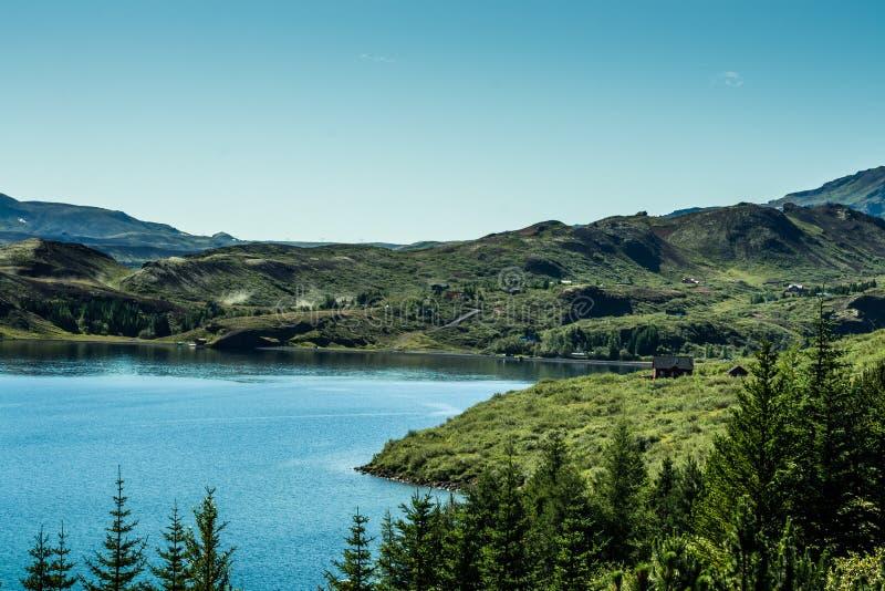 Θερινό εθνικό πάρκο Ισλανδία στοκ εικόνα με δικαίωμα ελεύθερης χρήσης