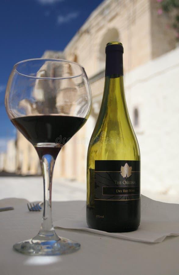 θερινό κρασί στοκ φωτογραφία