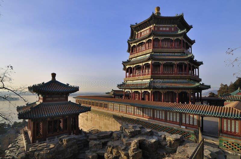 Θερινό παλάτι του Πεκίνου, Κίνα στοκ φωτογραφία