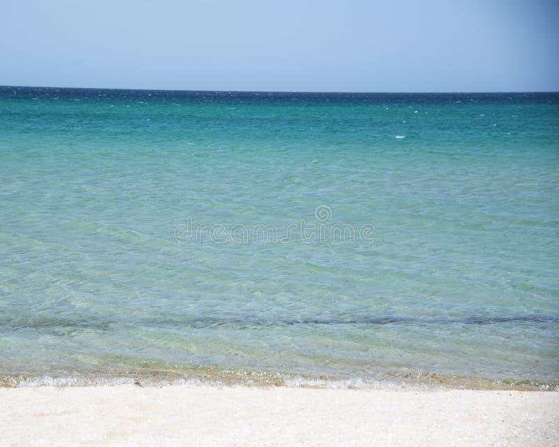 Θερινό τοπίο στη Μαύρη Θάλασσα, Κριμαία στοκ εικόνα