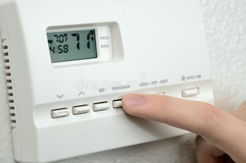 Θερμοστάτης στοκ φωτογραφία με δικαίωμα ελεύθερης χρήσης