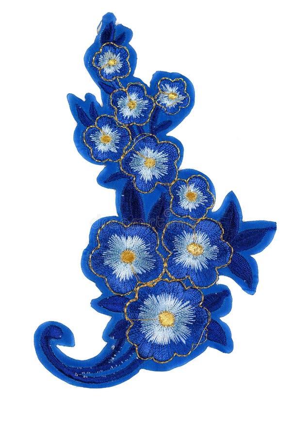 Θερμο-εφαρμογή των λουλουδιών Απομονώστε στην άσπρη ανασκόπηση στοκ φωτογραφία με δικαίωμα ελεύθερης χρήσης