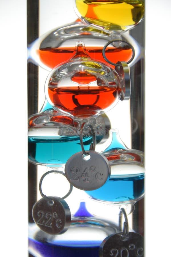 θερμόμετρο Γαλιλαίου στοκ εικόνες με δικαίωμα ελεύθερης χρήσης
