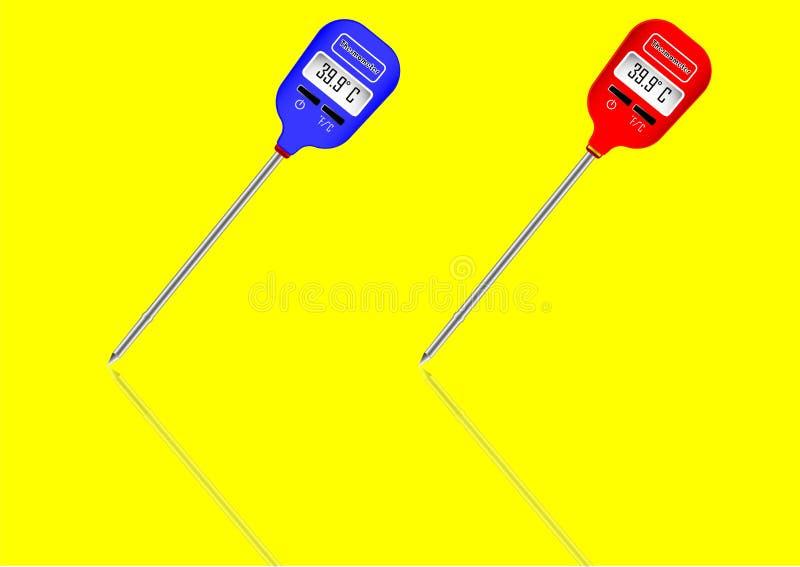 Θερμόμετρο για τις βιομηχανικές εφαρμογές απεικόνιση αποθεμάτων