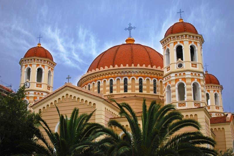 Θεσσαλονίκη. Καθεδρικός ναός στοκ εικόνες