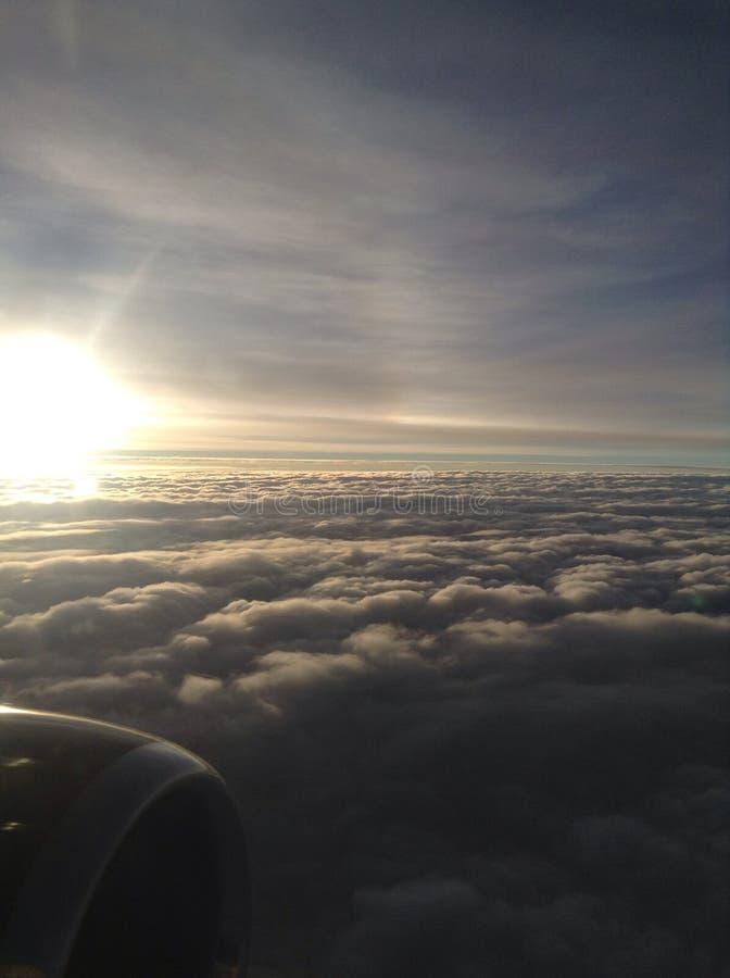 Θεϊκά σύννεφα στοκ φωτογραφία με δικαίωμα ελεύθερης χρήσης