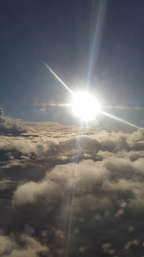 θεϊκοί ουρανοί στοκ φωτογραφίες