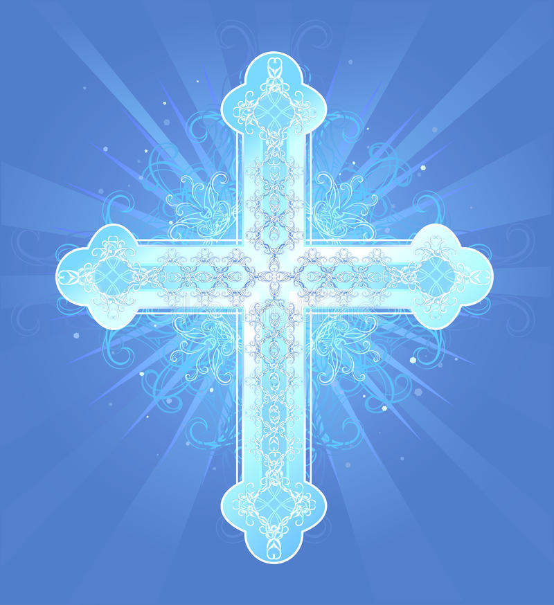 Θεϊκός σταυρός απεικόνιση αποθεμάτων