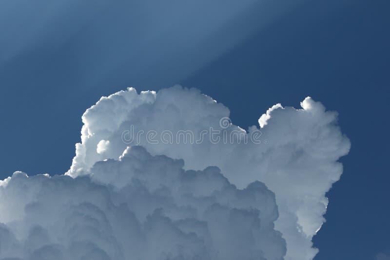 Θεϊκό σύννεφο στοκ εικόνα