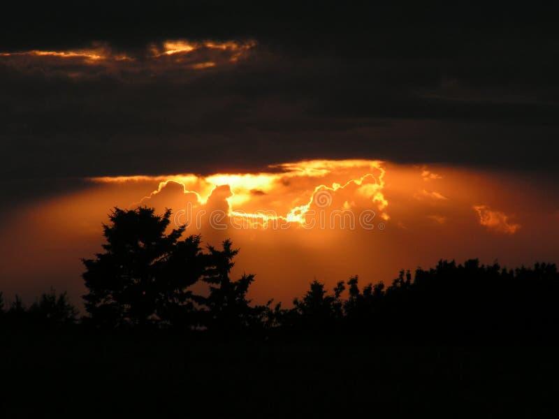 θεϊκό φως στοκ εικόνες