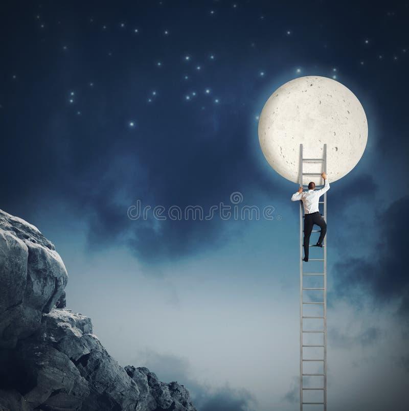 Θελήστε το φεγγάρι στοκ φωτογραφία με δικαίωμα ελεύθερης χρήσης