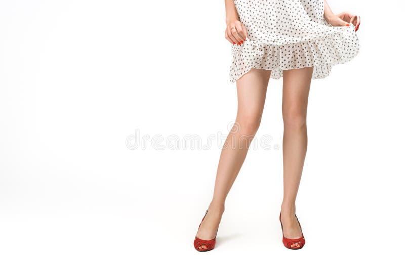 θηλυκά πόδια στοκ εικόνα με δικαίωμα ελεύθερης χρήσης