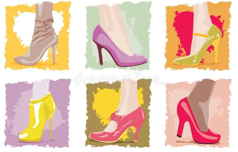 θηλυκά υποδήματα ελεύθερη απεικόνιση δικαιώματος