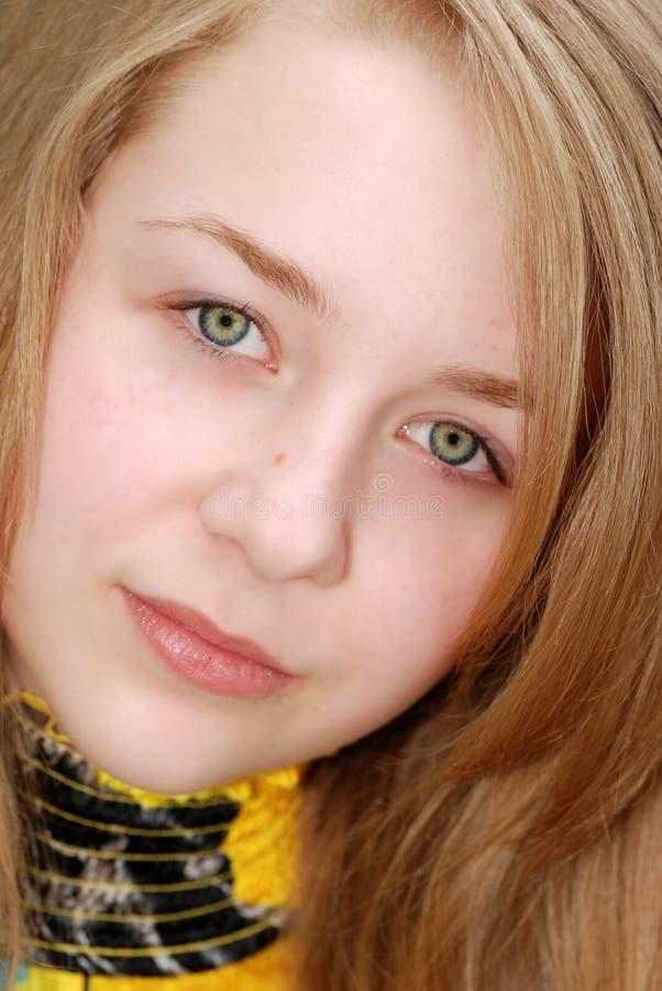 θηλυκές νεολαίες εφήβων headshot στοκ φωτογραφίες με δικαίωμα ελεύθερης χρήσης