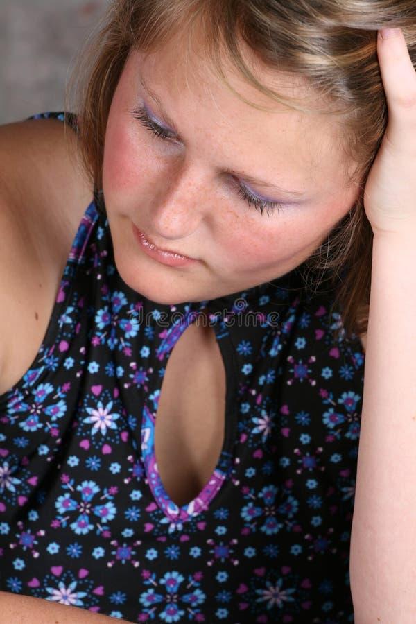 θηλυκές νεολαίες στοκ φωτογραφία