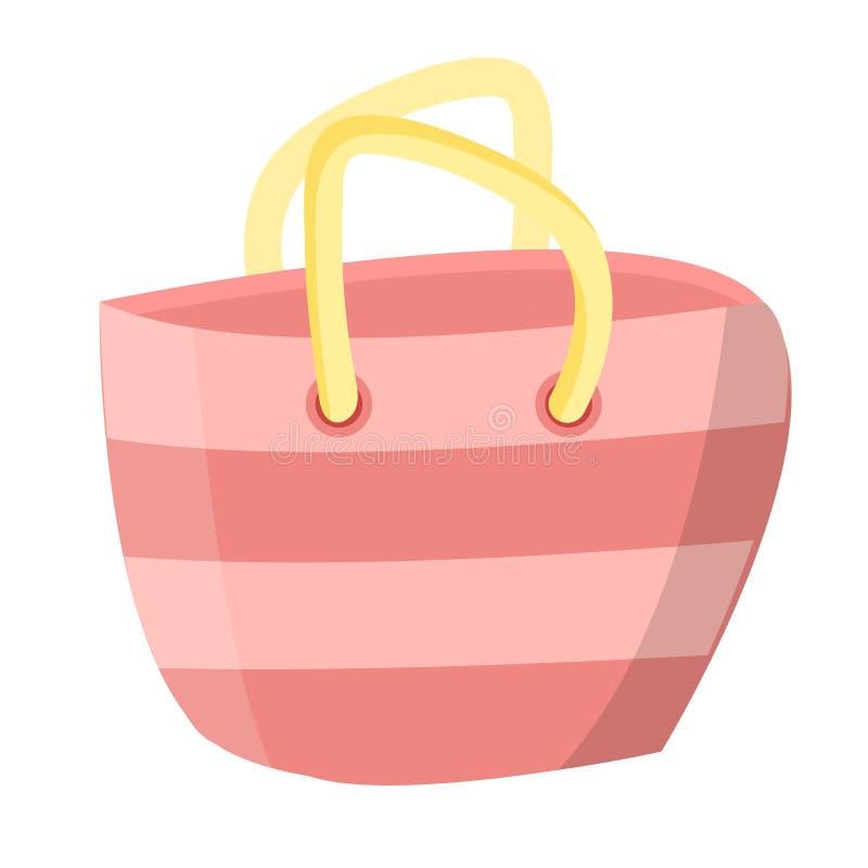 Θηλυκή τσάντα γυναικών απεικόνιση αποθεμάτων