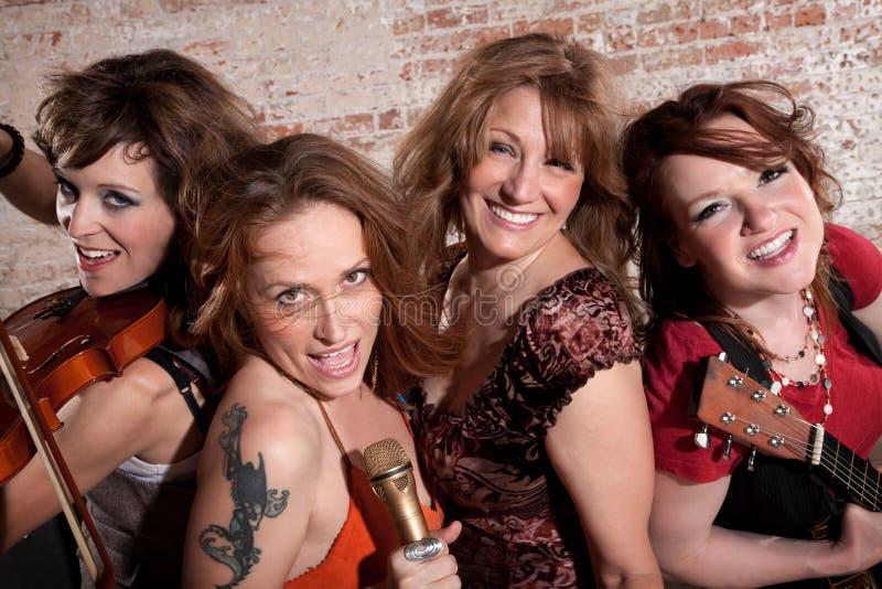 θηλυκοί μουσικοί στοκ φωτογραφίες με δικαίωμα ελεύθερης χρήσης