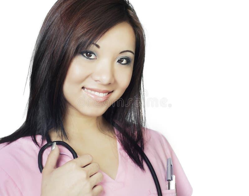 Θηλυκός γιατρός νοσοκόμων στοκ φωτογραφία με δικαίωμα ελεύθερης χρήσης