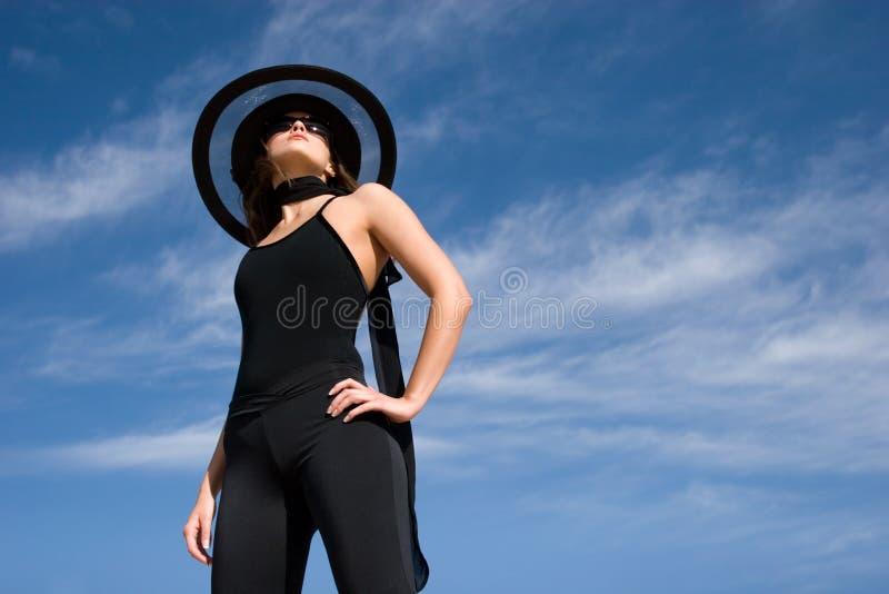 θηλυκός πρότυπος προκλη στοκ εικόνα με δικαίωμα ελεύθερης χρήσης