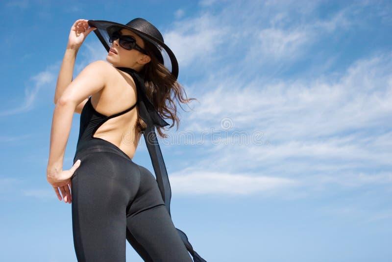 θηλυκός πρότυπος προκλη στοκ εικόνες με δικαίωμα ελεύθερης χρήσης