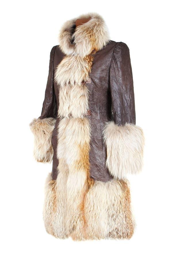 θηλυκός χειμώνας παλτών στοκ εικόνες με δικαίωμα ελεύθερης χρήσης