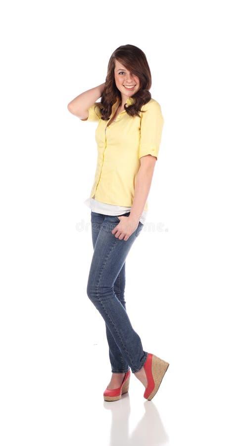 θηλυκός όμορφος έφηβος στοκ φωτογραφία με δικαίωμα ελεύθερης χρήσης