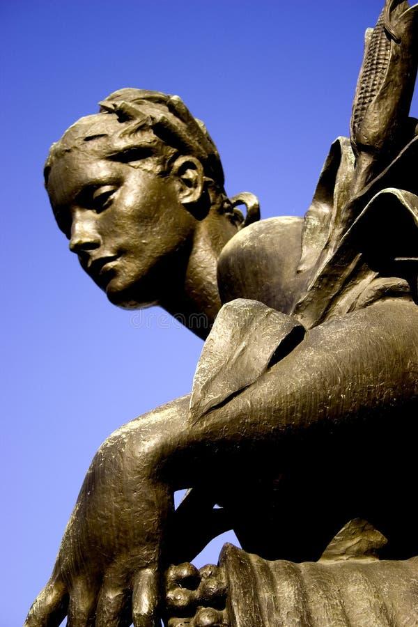 θηλυκό άγαλμα Στοκ Εικόνες