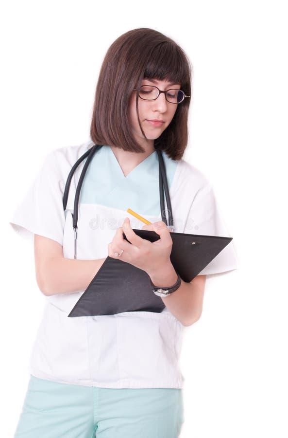 θηλυκό γιατρών στοκ φωτογραφία