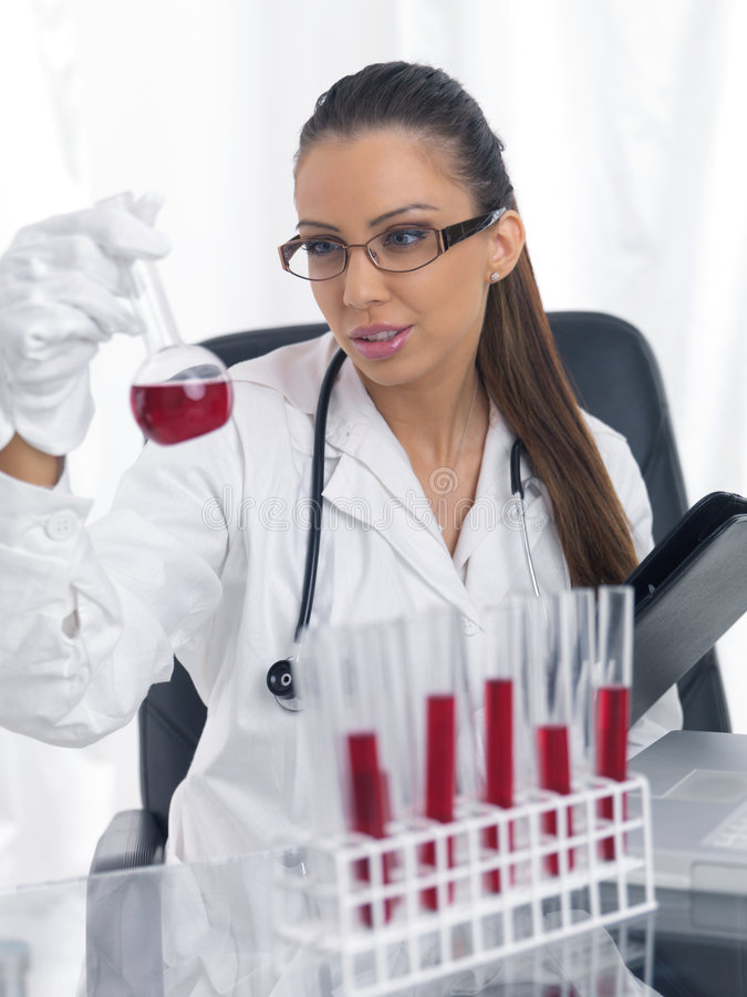 θηλυκό γιατρών στοκ φωτογραφίες