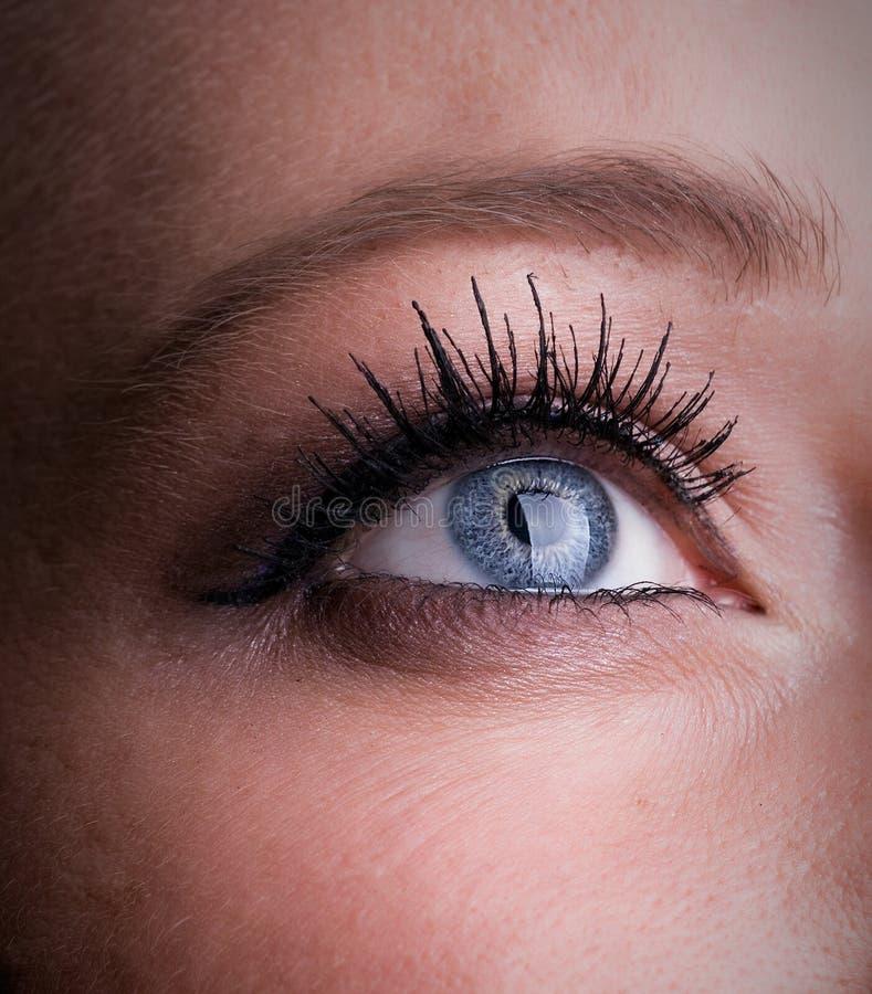 θηλυκό ματιών στοκ φωτογραφία με δικαίωμα ελεύθερης χρήσης