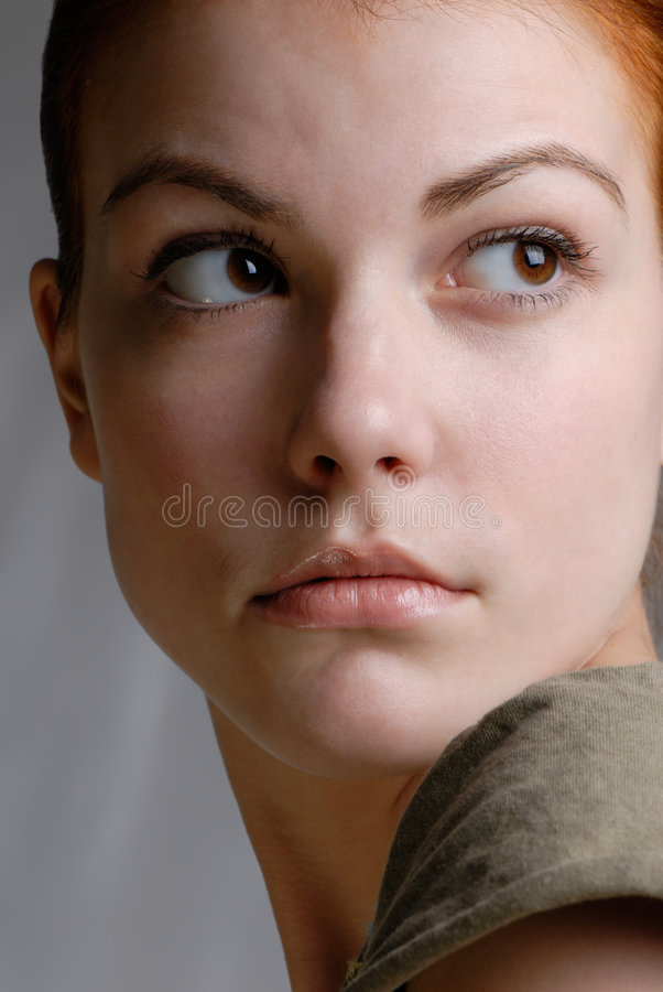 θηλυκό πορτρέτο στοκ φωτογραφίες