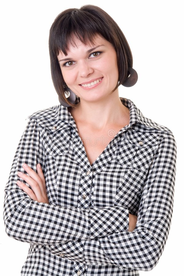 θηλυκό πορτρέτο στοκ φωτογραφία