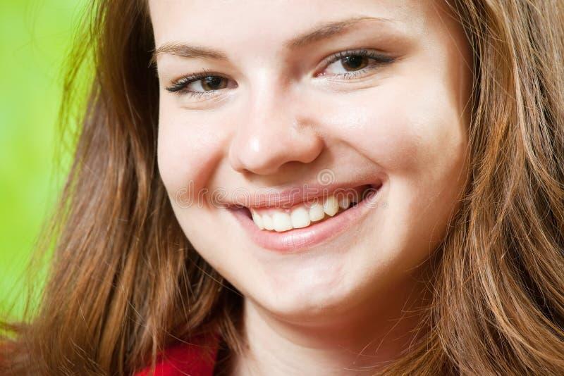 θηλυκό χαμόγελο προσώπο&u στοκ εικόνα με δικαίωμα ελεύθερης χρήσης