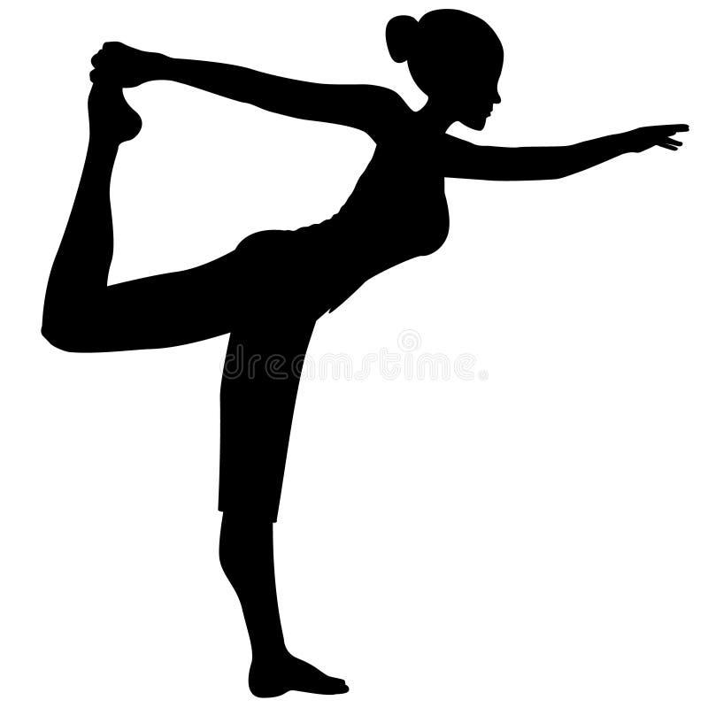 θηλυκό χορευτών απεικόνιση αποθεμάτων