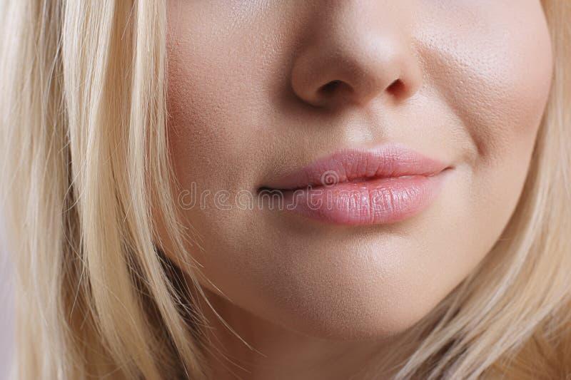 Θηλυκά χείλια στοκ φωτογραφία με δικαίωμα ελεύθερης χρήσης