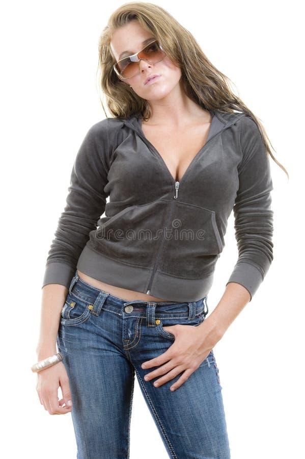 θηλυκές πρότυπες νεολαί στοκ φωτογραφίες