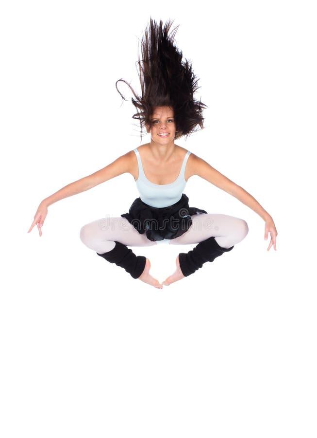 Θηλυκός σύγχρονος χορευτής στοκ εικόνες με δικαίωμα ελεύθερης χρήσης