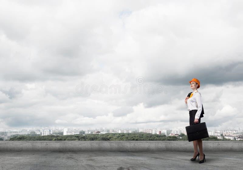 θηλυκό μηχανικών στοκ φωτογραφία με δικαίωμα ελεύθερης χρήσης
