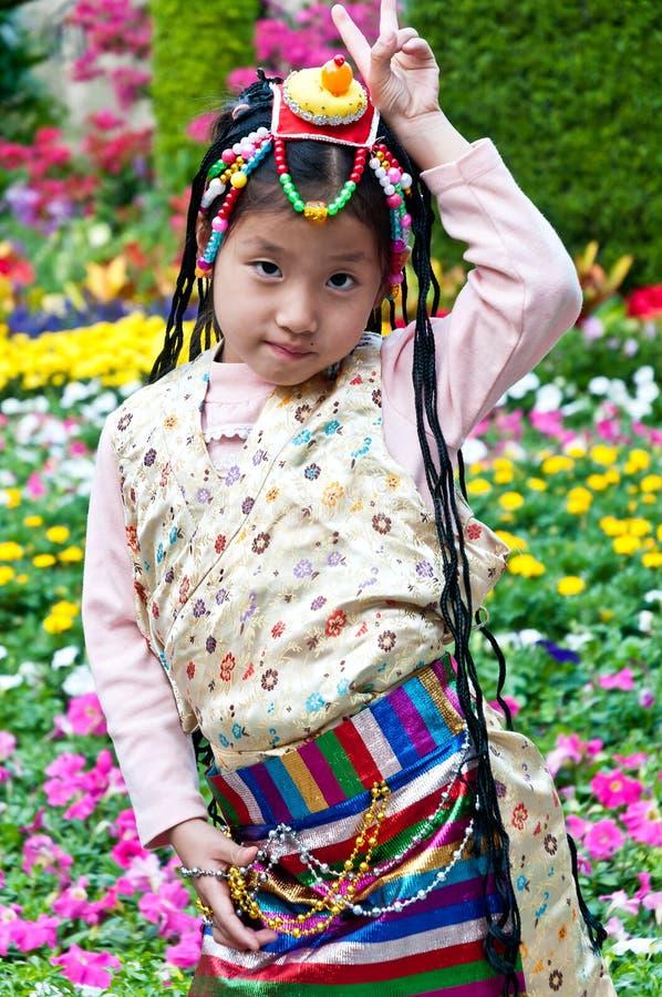 Θιβετιανά παιδιά στοκ φωτογραφίες με δικαίωμα ελεύθερης χρήσης