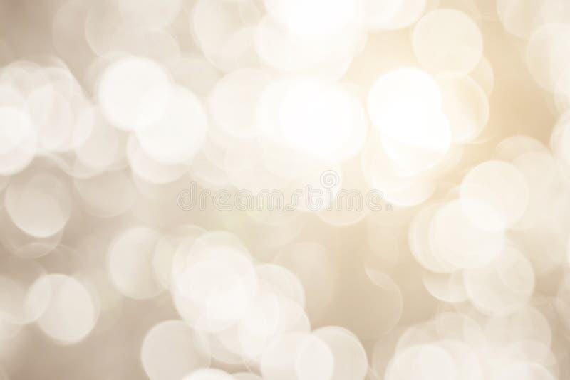 Θολωμένα φω'τα χιονιού Χριστουγέννων στο υπόβαθρο εστίαση επίδρασης σχεδίου στοκ φωτογραφία