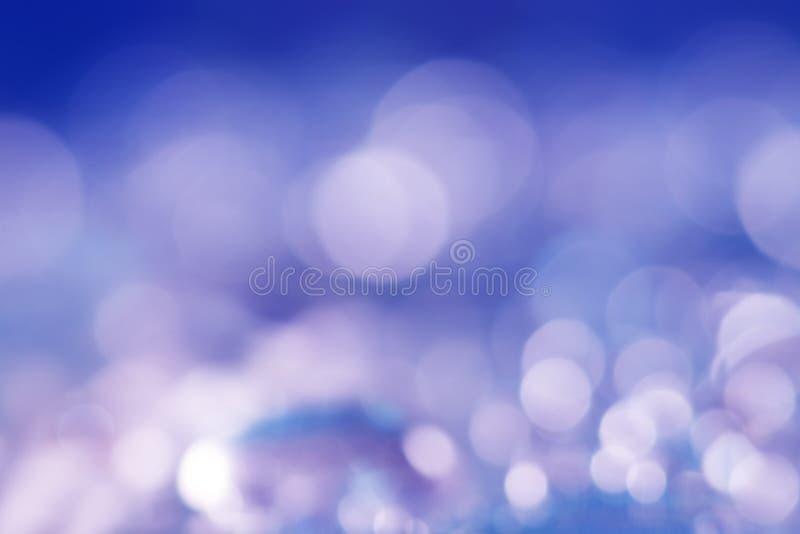 Θολωμένη περίληψη bokeh ανασκόπηση background blue purple στοκ φωτογραφία με δικαίωμα ελεύθερης χρήσης
