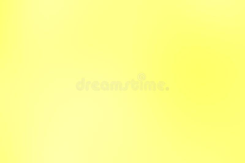 Θολωμένο κλίσης κίτρινο μαλακό υπόβαθρο κρητιδογραφιών χρώματος ζωηρόχρωμο ελεύθερη απεικόνιση δικαιώματος