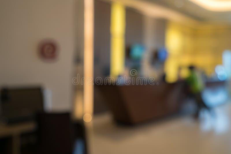 Θολωμένο ξενοδοχείο υπόβαθρο στοκ φωτογραφία με δικαίωμα ελεύθερης χρήσης