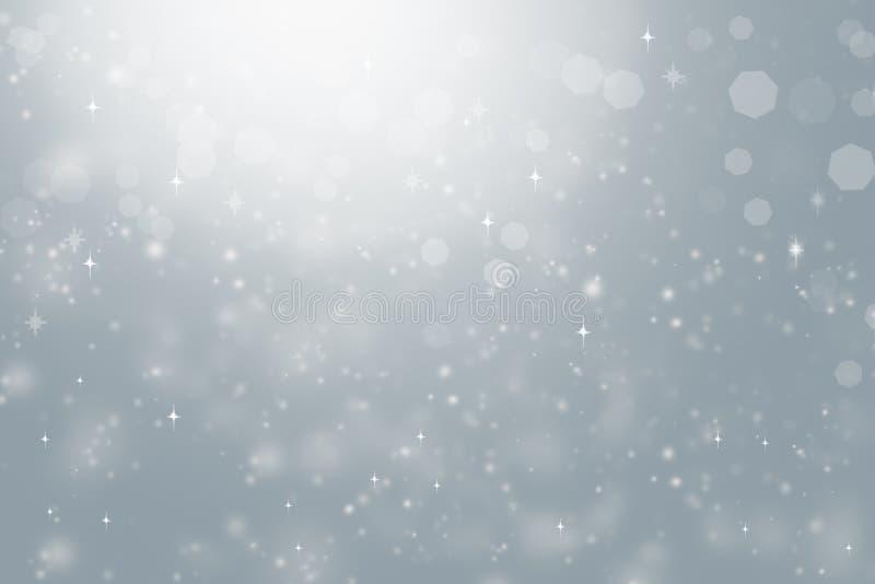 Θολωμένο περίληψη υπόβαθρο, φως, αστέρια, bokeh στοκ εικόνες