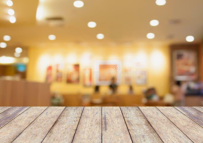Θολωμένο εστιατόριο εκλεκτής ποιότητας φίλτρο υποβάθρου στοκ εικόνα