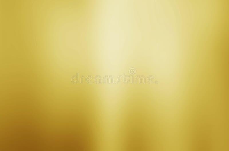 Θολωμένο χρυσός υπόβαθρο σύστασης στοκ εικόνα με δικαίωμα ελεύθερης χρήσης
