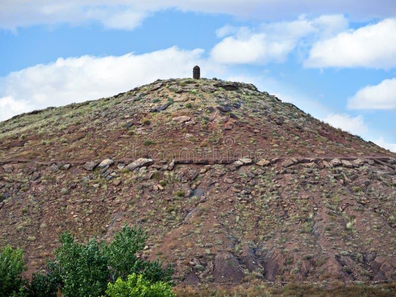 Θολωτός λόφος, έθνος Ναβάχο, Αριζόνα στοκ φωτογραφία με δικαίωμα ελεύθερης χρήσης
