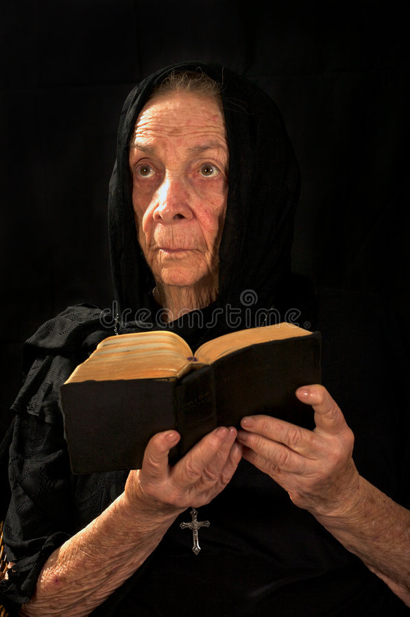 θρησκευτική γυναίκα στοκ φωτογραφίες