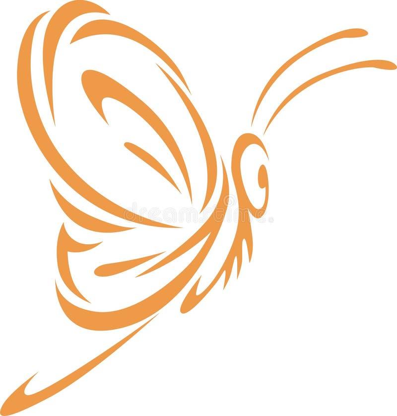 θρόισμα ύφους πεταλούδων απεικόνιση αποθεμάτων